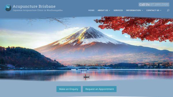 Acupuncture Brisbane screenshot