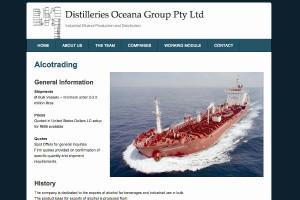 Distilleries Oceana screenshot