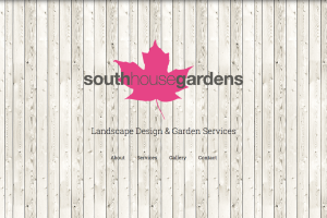 Landscape Design Website